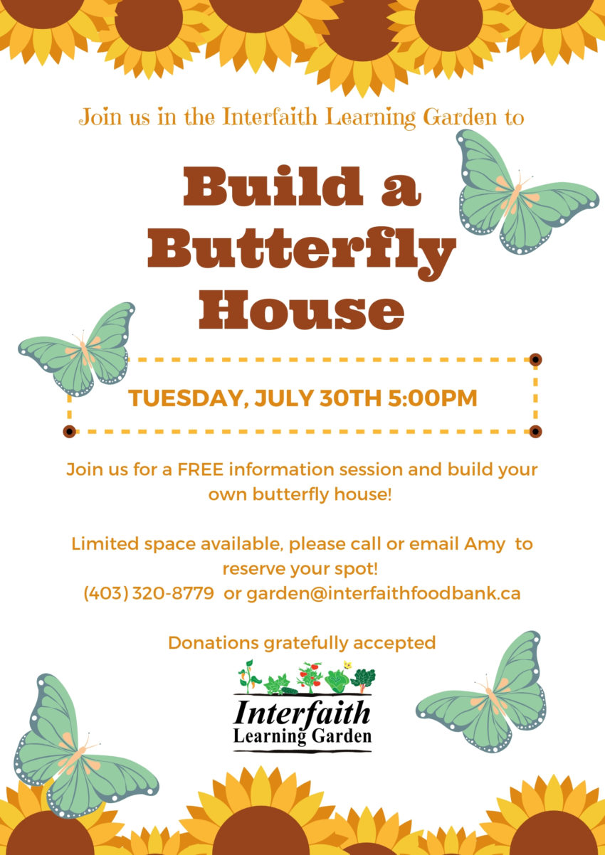 Build a Butterfly House